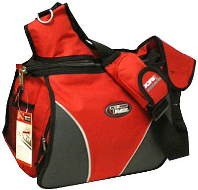 Large Messenger Sling Body Bag Backpack Binder Bag RED School Pack ...