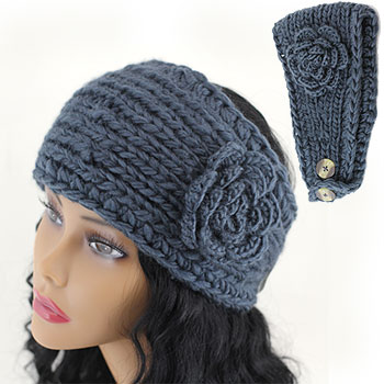 CROCHET HEADBAND BUTTONS CLOSURES ? Only New Crochet Patterns